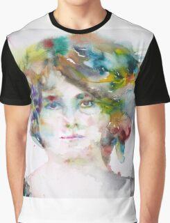 MAUD GONNE - watercolor portrait Graphic T-Shirt