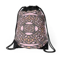 Complex geometric abstract Drawstring Bag