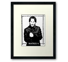 The Matrix 4 Framed Print