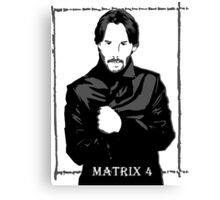 The Matrix 4 Canvas Print