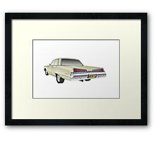 dodge monaco Framed Print
