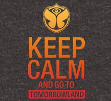 Keep Calm and go to Tomorrowland - Yellow gradient Unisex T-Shirt