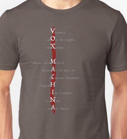Critical Role: Vox Machina Unisex T-Shirt