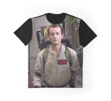 Peter Venkman - The Ghostbusters Graphic T-Shirt