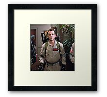 Peter Venkman - The Ghostbusters Framed Print