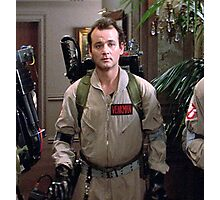 Peter Venkman - The Ghostbusters Photographic Print