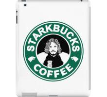 starKbucks coffee Game of thrones John snow starbucks iPad Case/Skin