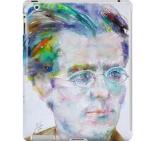 GUSTAV MAHLER - watercolor portrait.3 iPad Case/Skin