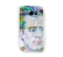GUSTAV MAHLER - watercolor portrait.3 Samsung Galaxy Case/Skin