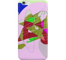 Floral abstract design by Moma iPhone Case/Skin