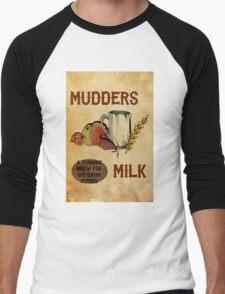 Mudder's Milk Men's Baseball ¾ T-Shirt