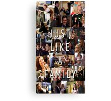 Just Like a Family-Version 2 (Criminal Minds) Canvas Print