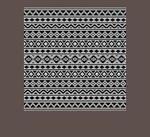 Aztec Essence Pattern II Black White Grey Unisex T-Shirt