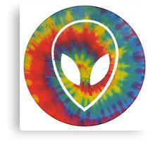 Trippy Alien Canvas Print