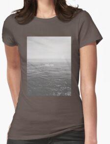 Relax - Ocean Womens Fitted T-Shirt