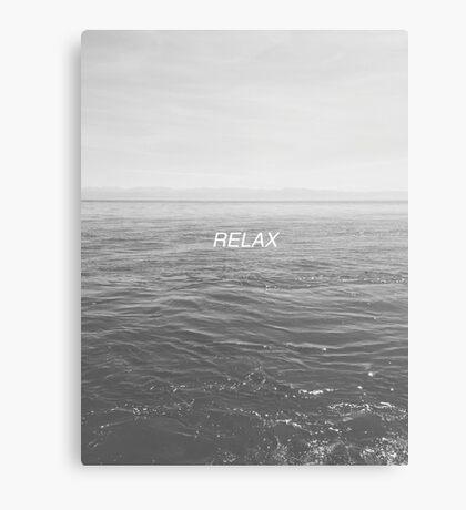 Relax - Ocean Canvas Print