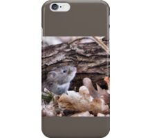 Peeping Mouse iPhone Case/Skin