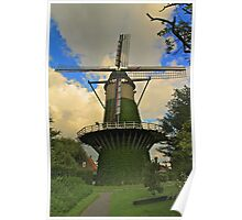 Windmill Holland Poster