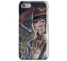 Crossbow Alicia Clark  iPhone Case/Skin