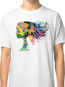 Girl with flowers Classic T-Shirt