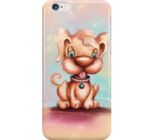 Cute Colorful Puppy Dog iPhone Case/Skin