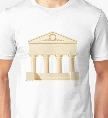 Antique building  Unisex T-Shirt