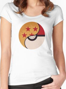 Pokemon DragonBall Fusion  Women's Fitted Scoop T-Shirt
