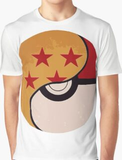 Pokemon DragonBall Fusion  Graphic T-Shirt