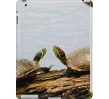 Talking Turtles iPad Case/Skin