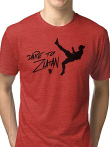 Welcome to Old Trafford Zlatan Ibrahimovic Tri-blend T-Shirt