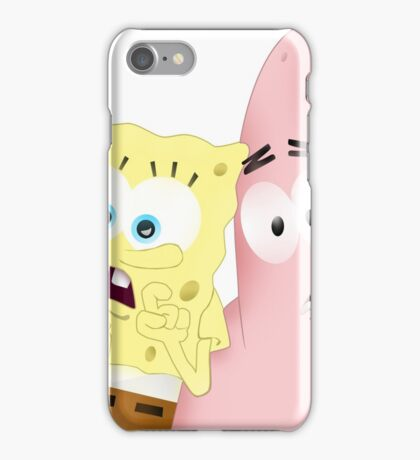 Spongebob & Patrick iPhone Case/Skin