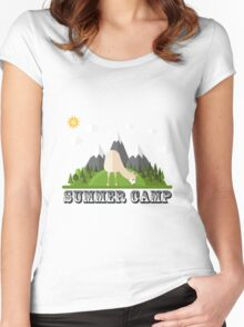 Summer Camp Women's Fitted Scoop T-Shirt