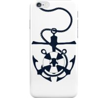 Nautical Grapnel Anchor iPhone Case/Skin