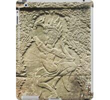 Apsara Carving - Angkor Wat, Cambodia iPad Case/Skin