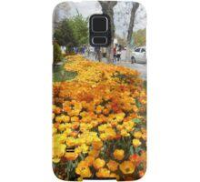 Yellow tulips Samsung Galaxy Case/Skin