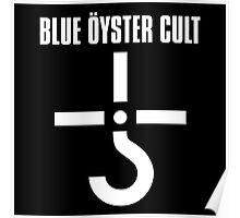 BLUE OYSTER CULT LOGO NEW Poster