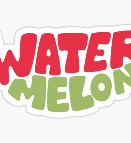Type O' Watermelon Sticker