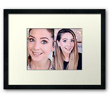 Zoella   Zoe Sugg Framed Print