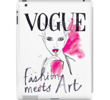 Kate Moss for Vogue iPad Case/Skin