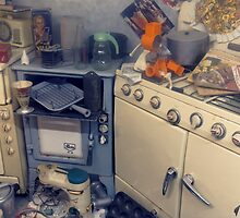 Unloved Kitchen by Steve
