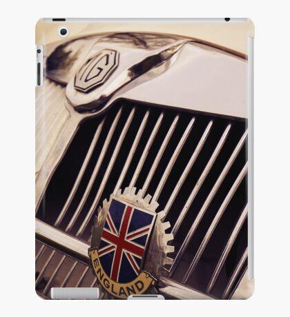 mg car, british flag iPad Case/Skin