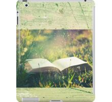 Some day you will be old enough to start reading fairy tales again ~ C S Lewis iPad Case/Skin