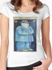The Spy Women's Fitted Scoop T-Shirt
