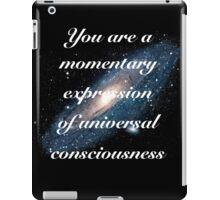 Universal Consciousness - V1 iPad Case/Skin