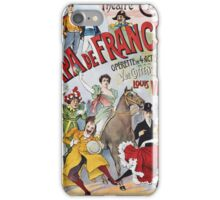 Unknown - Le Papa De Francine Poster. People portrait: party, woman and man,  enjoy,  free time,  fun,  hobbies,  hobby,  holiday,  holidays,  leisure time,  lifestyle iPhone Case/Skin