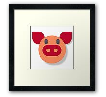 The Most Pure Pig Framed Print