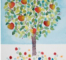Summer Apple Tree by Anita Murphy