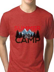 Summer Camp #4 Tri-blend T-Shirt