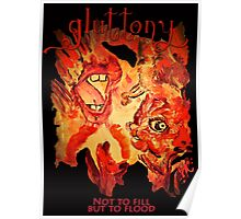 Gluttony- The Seven Sins Poster
