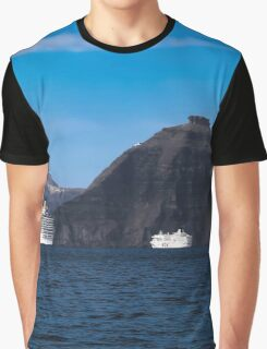 Santorini 9 Graphic T-Shirt